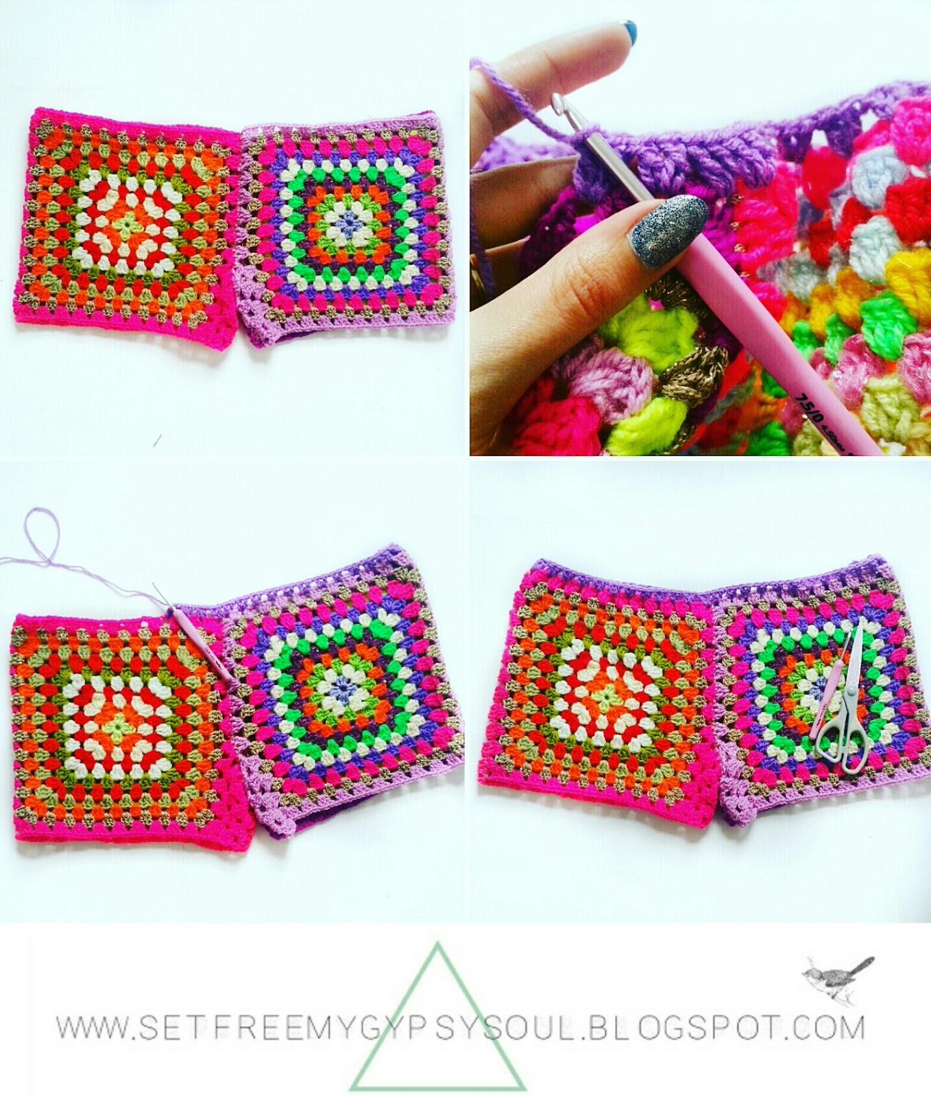Set Free My Gypsy Soul | a Crochet Craft blog : Granny Square ...
