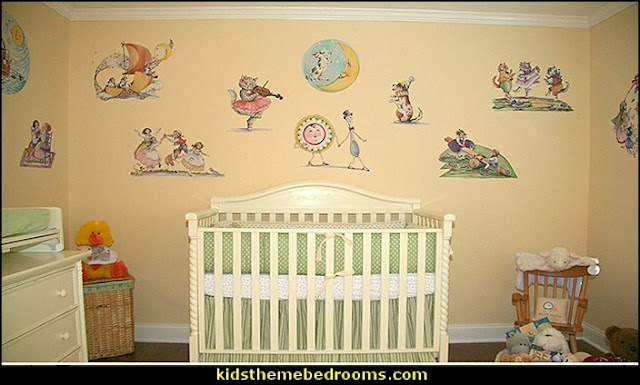 nursery rhyme nursery decor nursery rhyme bedroom ideas - Moon stars twinkle twinkle baby nursery decorating ideas -  storybook bedrooms - counting sheep baby bedroom ideas Humpty Dumpty decor - Mother Goose - moon stars baby bedding - Moon and Stars themed nursery - Nursery Rhymes wall murals - celestial themed baby nursery - moon stars wall stickers - stars clouds wall decals - moon stars baby bedroom ideas - moon stars nursery decor - magical baby unicorns - Nursery Rhyme lamb bed for toddlers counting ducks