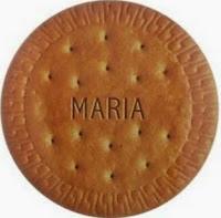 Imagem de uma bolacha ou biscoito Maria