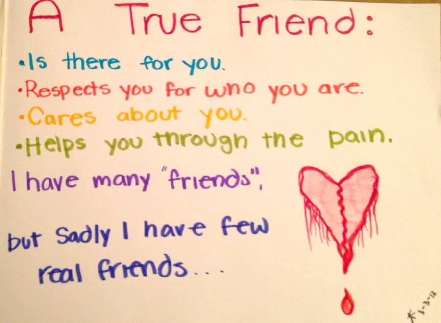 True friend essay