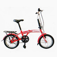 16 evergreen eg116 folding bike