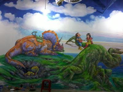 jasa mural, jasa wallpainting, mural jakarta, jasa wallpainting jakarta, jawa mural jakarta, mural mall