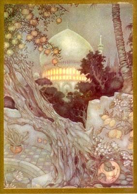 an Arabian-nights palace by Anton Pick