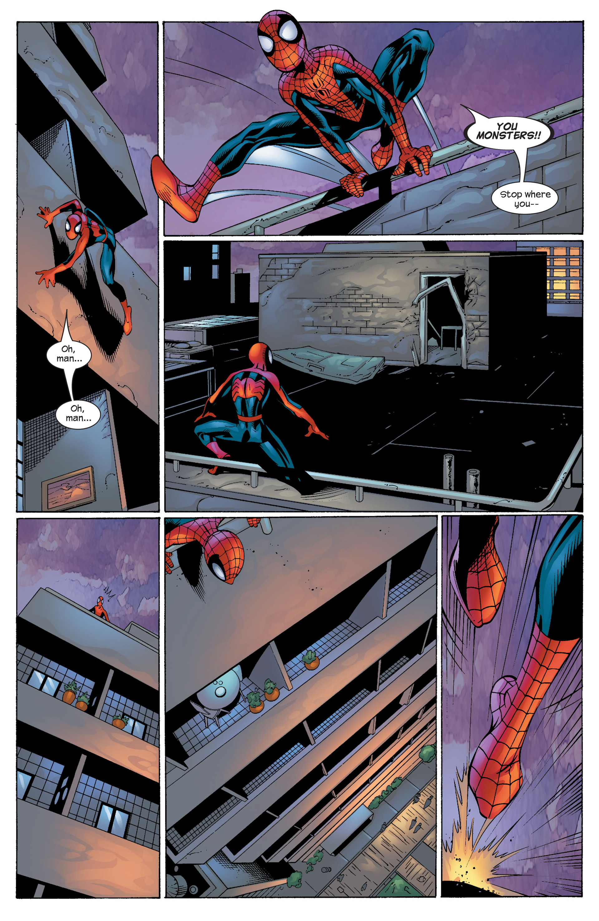 Read online Ultimate Spider-Man (2000) comic -  Issue #53 - 22