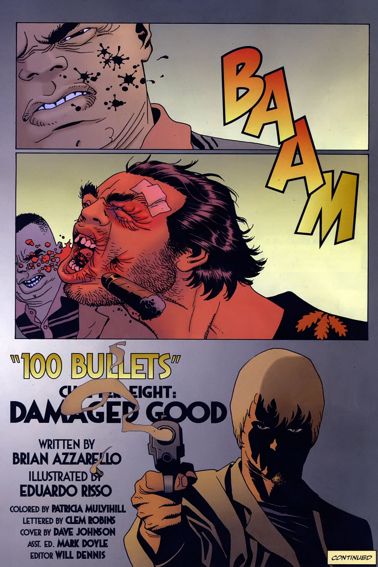 Read online 100 Bullets comic -  Issue #96 - 23