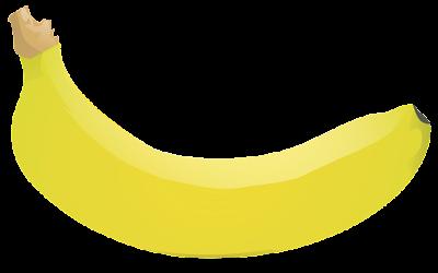 download clipart buah pisang