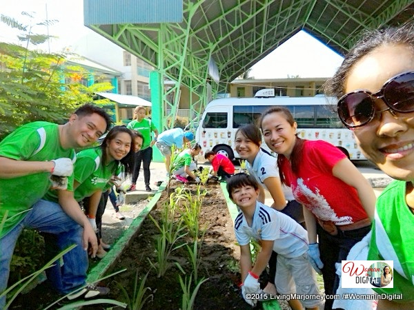 Tree Planting with Starbucks team and Teach For The Philippines