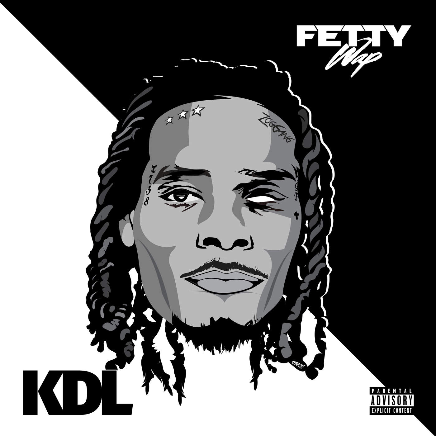 KDL & Fetty Wap - With You - Single Cover