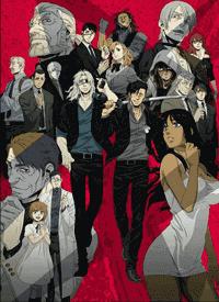 جميع حلقات الأنمي Gangsta مترجم