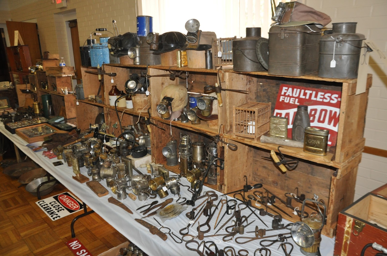Man Cave Antiques Artifacts : Restoring historical mining equipment