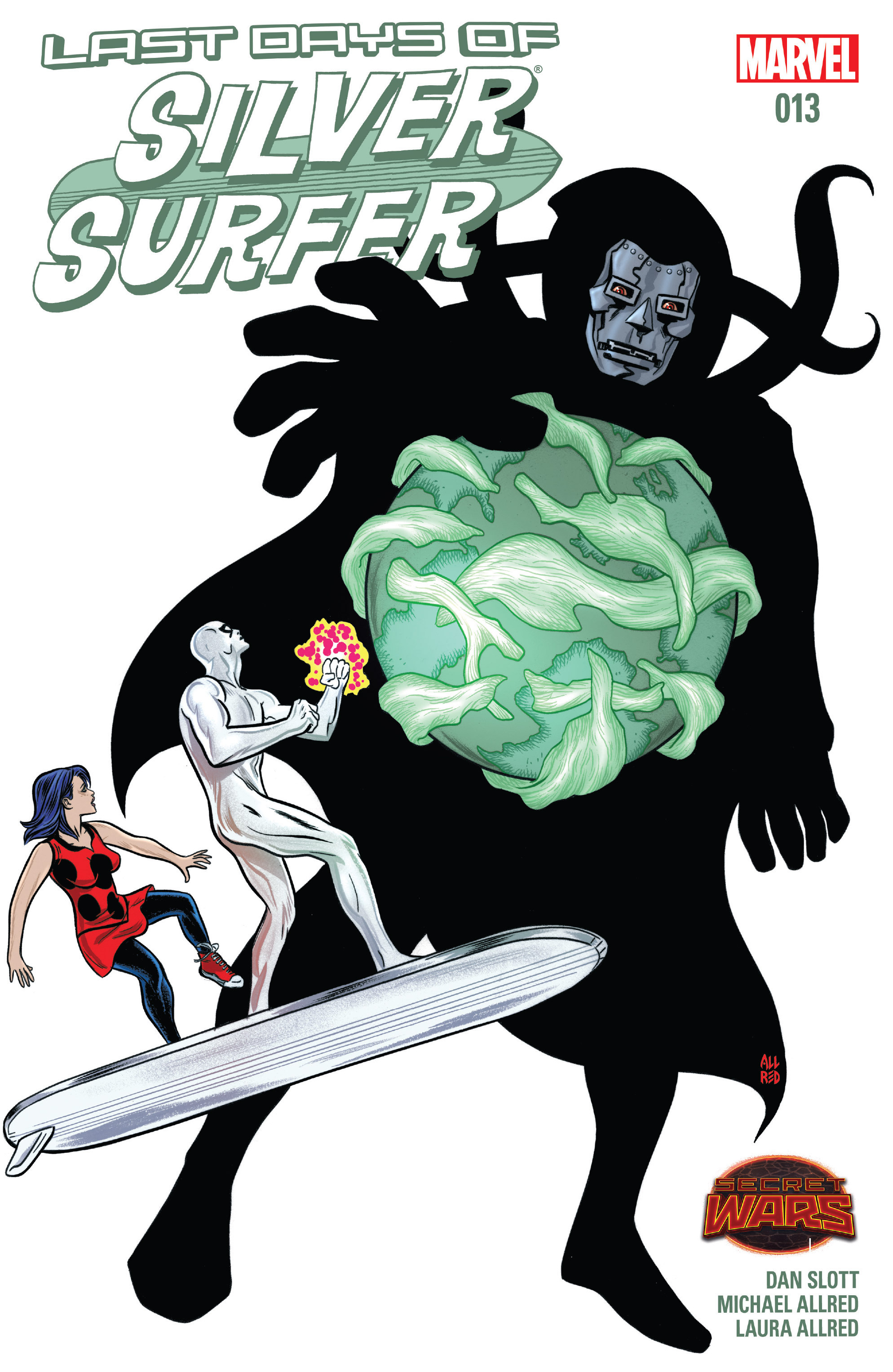 Read online Silver Surfer (2014) comic -  Issue #13 - 1