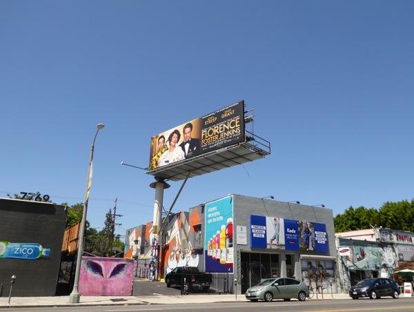 Florence Foster Jenkins billboard