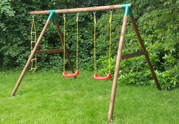 The Brick Castle Little Tikes Riga Swing Set From Asda Review