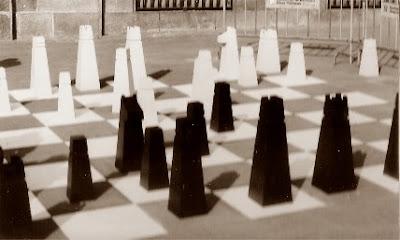 Piezas de ajedrez diseñadas por Joan Mora Soler