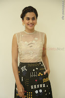 Taapsee Pannu in transparent top at Anando hma theatrical trailer launch ~  Exclusive 107.JPG