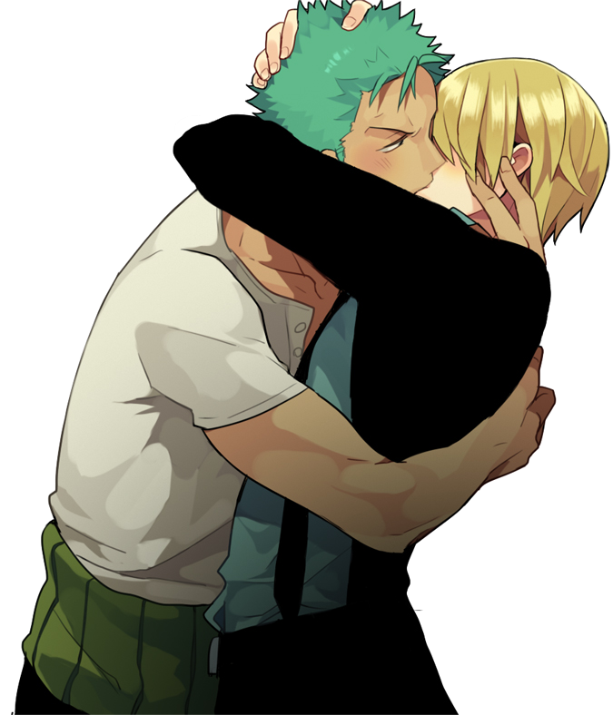 Zoro x Sanji + One Piece