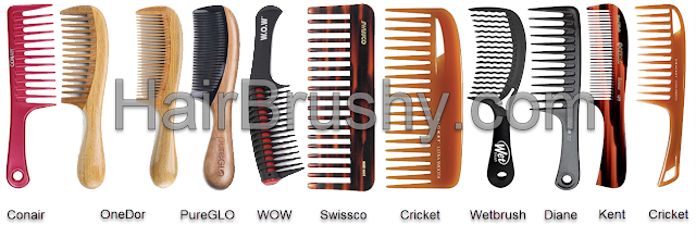 Detangling combs