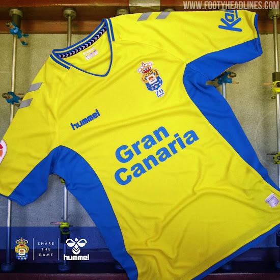 Hummel Las Palmas 19-20 Home & Away Kits Revealed - Footy Headlines