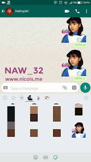 Cara Mudah Membuat Sticker WhatsApp Pake PicsArt