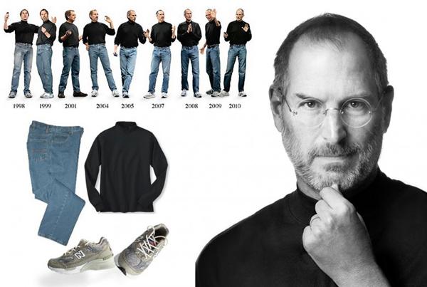 Steve Jobs'ın Kıyafetleri