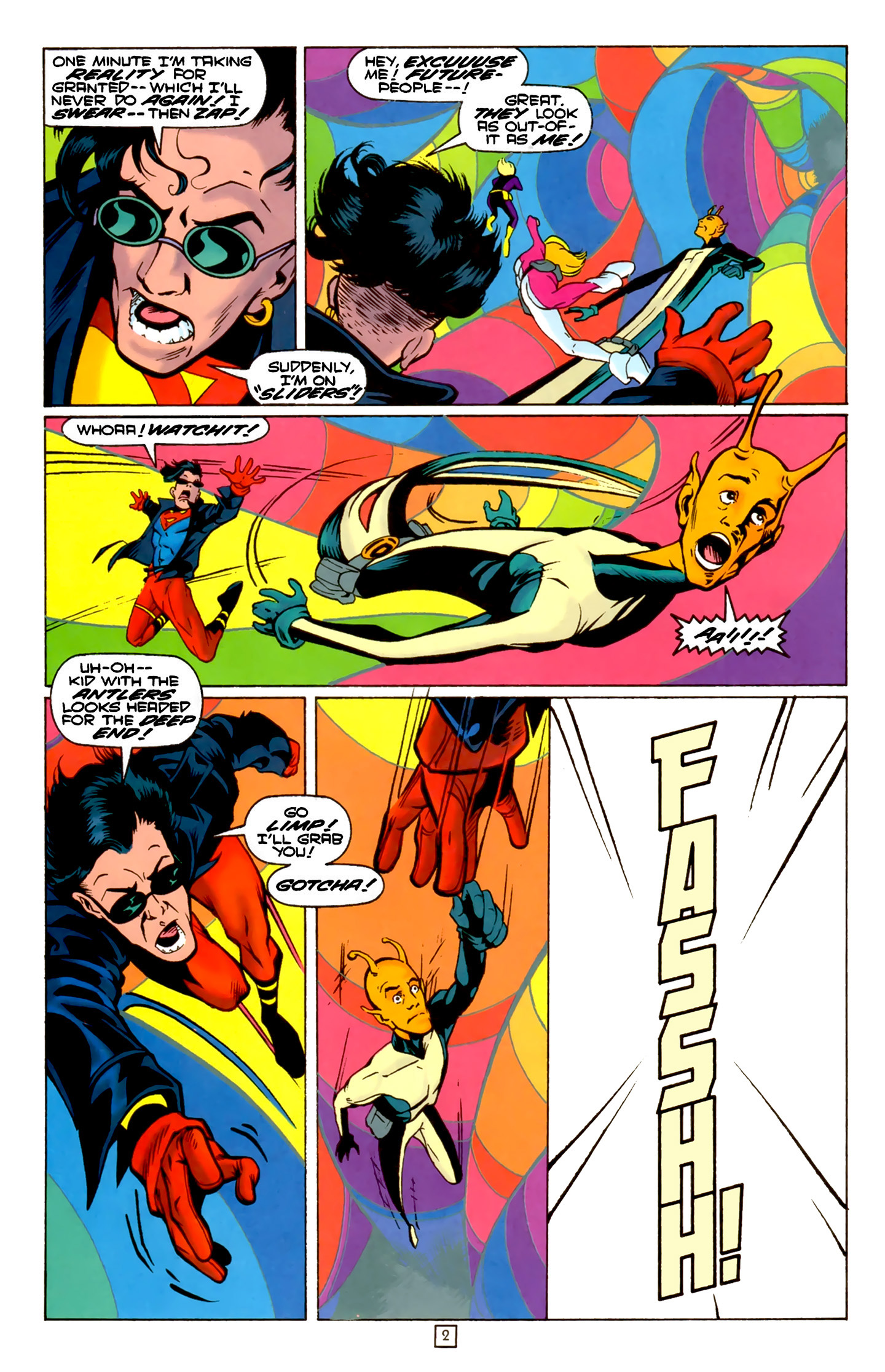 Legion of Super-Heroes (1989) 74 Page 2