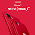 Apple outs (Product) Red iPhone 7, iPhone 7 Plus
