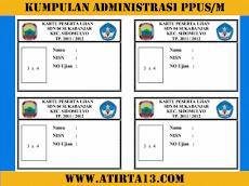 Contoh Format Administrasi Guru Untuk Kegiatan US/M SD