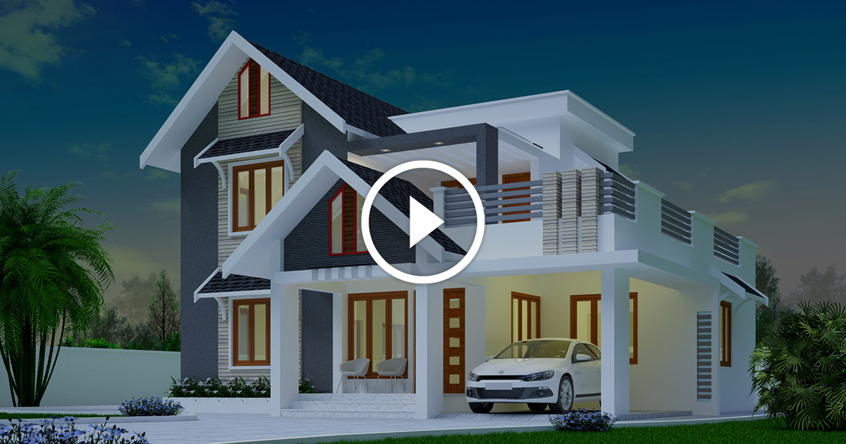 Best 85 House Designs Of May 2018 Kerala Home Design