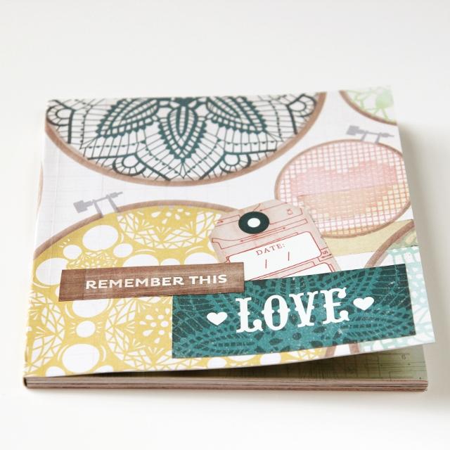 Diy Notebook - using perfect binding