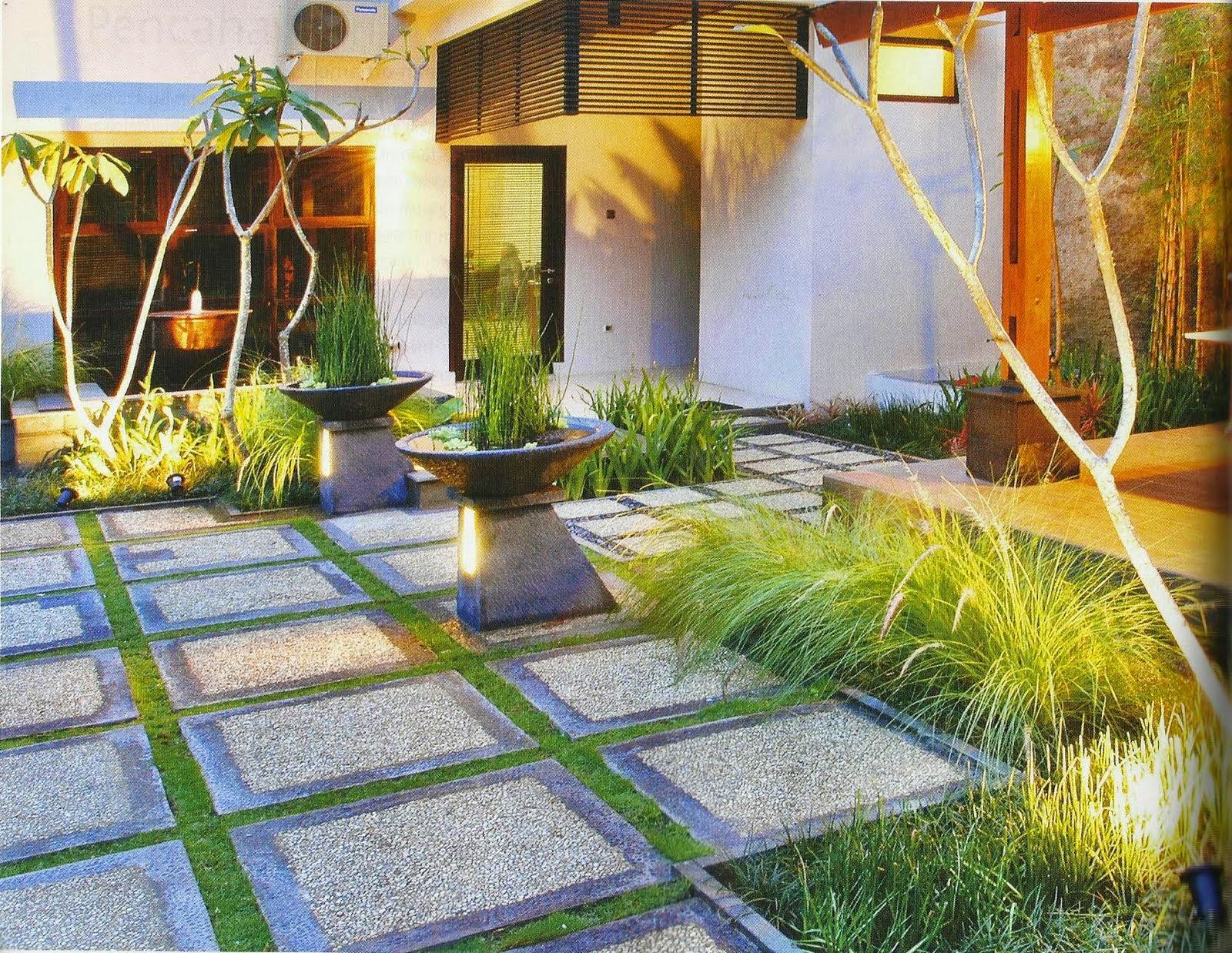 Minimalist House Garden Design Concept  Inspiring