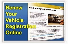 Instructions to Renew Vehicle Registration at Walmart
