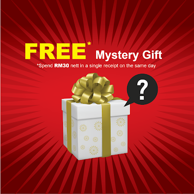 Popular Book Free Mystery Gift