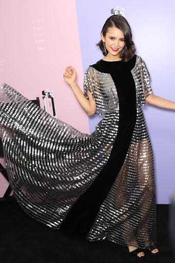 Nina Dobrev best red carpet dresses photo