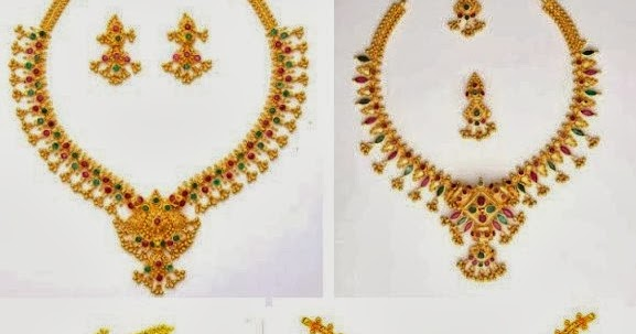 16 gold muvvala necklace design variations latest