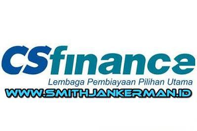 Lowongan PT. CS Finance Pekanbaru Maret 2018