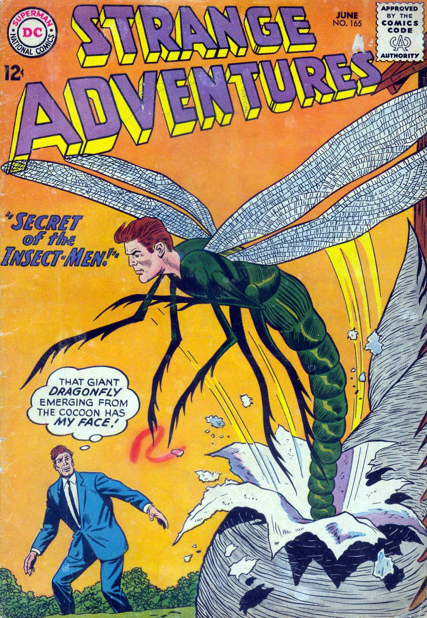 Strange Adventures (1950) 165 Page 1