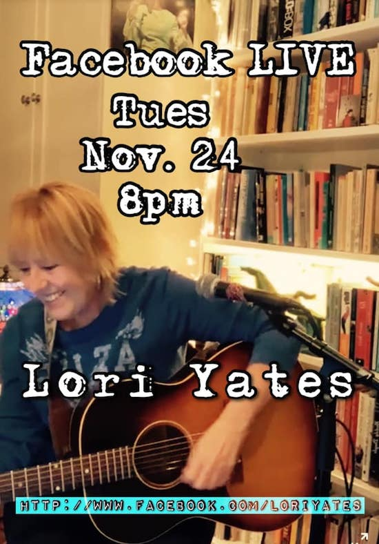 Lori Yates livestream from Hamilton, Tuesday