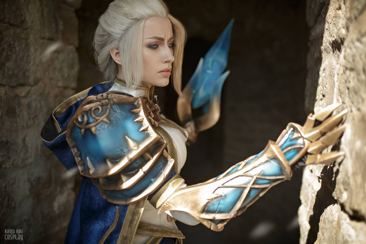 Can jaina proudmoore cosplay are