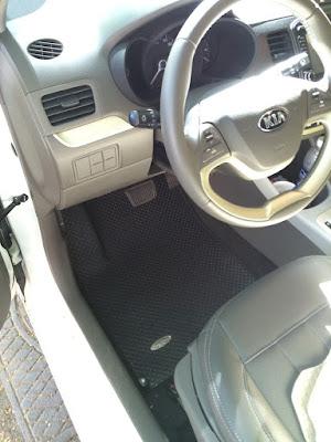 Thảm lót sàn ô tô Kia Morning