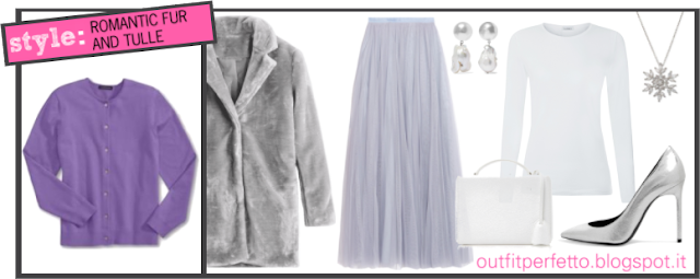 Come abbinare un CARDIGAN COLOR LAVANDA (outfit Autunno/Inverno)