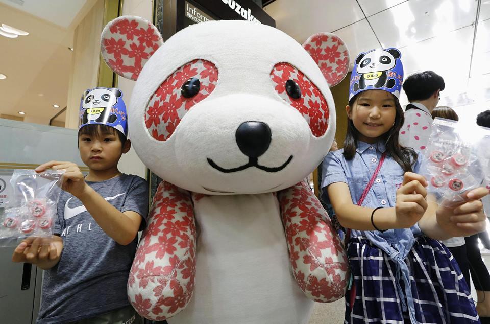 Japan celebrates the birth of a panda cub, entertainment news