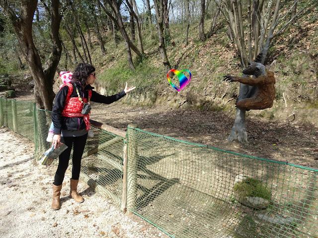 """La nostra gita """"cuore a cuore"""" grazie al babywearing al Parco Natura Viva"""
