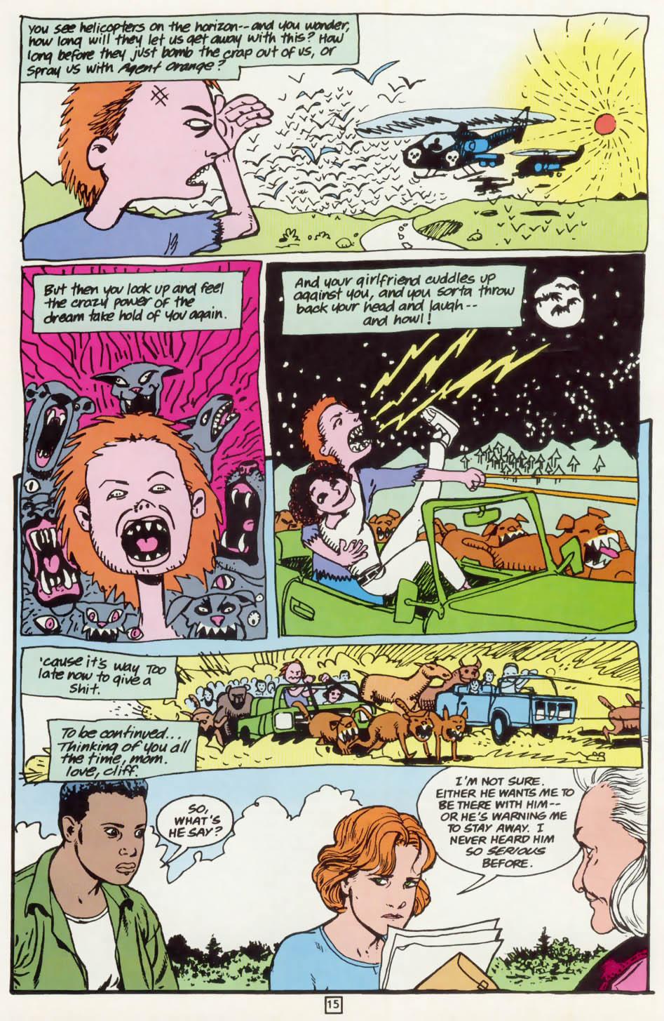Read online Animal Man (1988) comic -  Issue #75 - 16