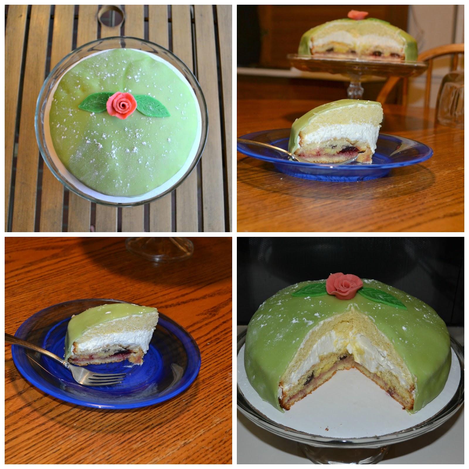 Princess Cake Prinsesstarta Daring Bakers