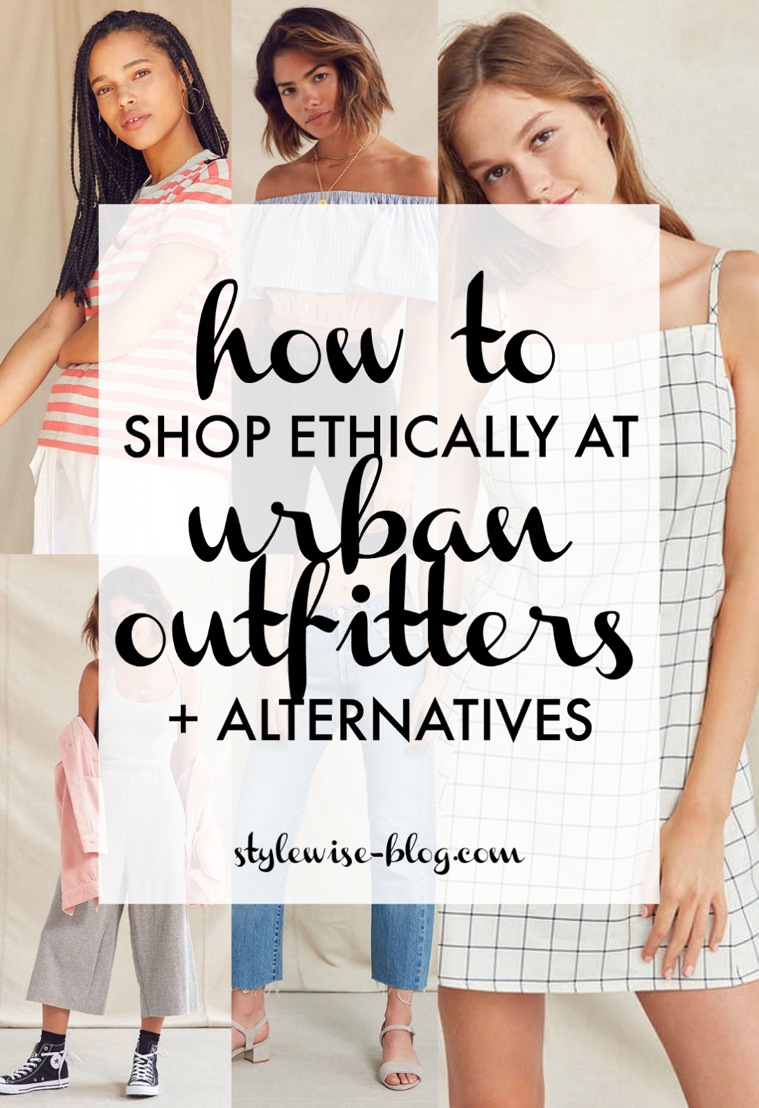 how to shop ethically at urban outfitters plus ethical fashion alternatives