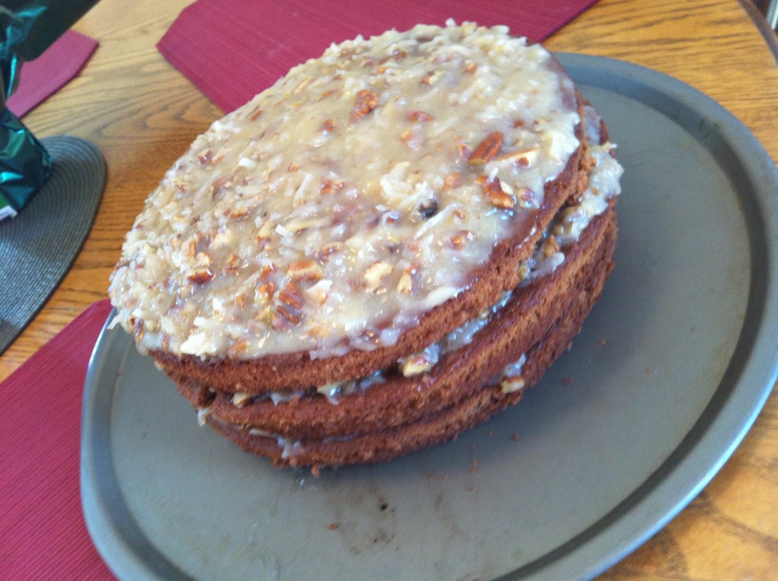 German Chocolate Cake Recipe Joy Of Baking: Baked By Buttercup: German Chocolate Cake