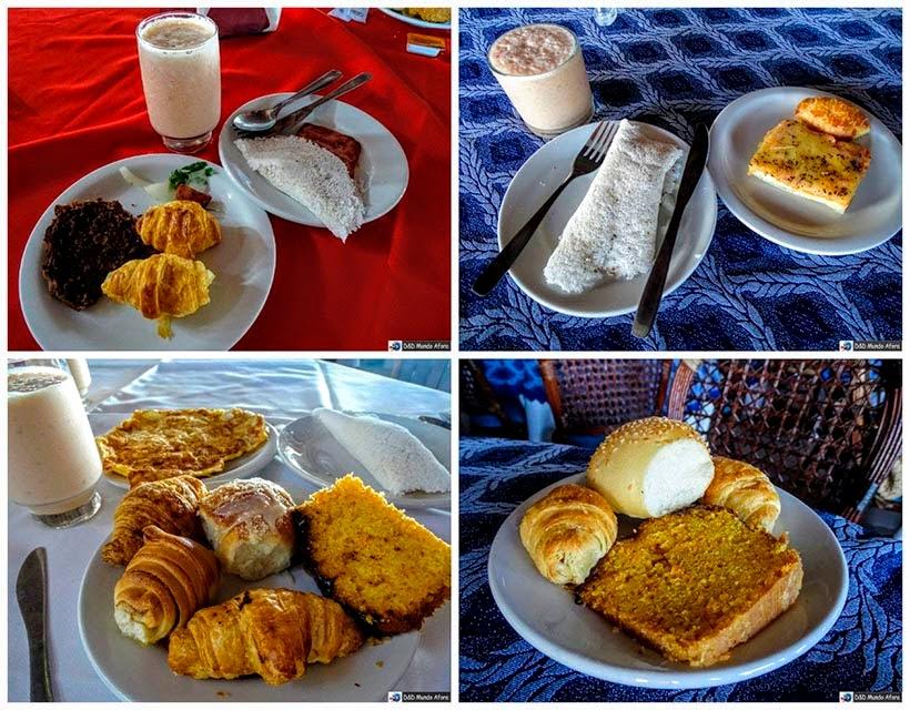 Onde ficar em Natal (RN) - Café da manhã farto e gostoso no D Beach Resort