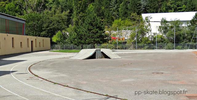 Skate park moutiers