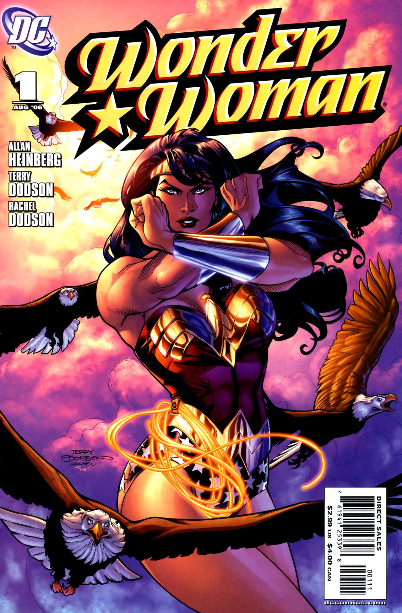 Read online Wonder Woman (2006) comic -  Issue #1 - 1