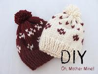 DIY Gorros de lana. Aprender a tejer con tutoriales.